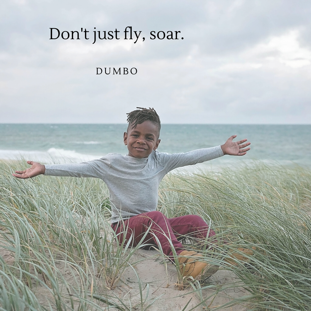 Don't just fly, soar.